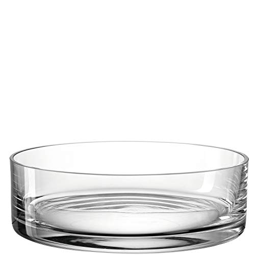 LEONARDO HOME 018623 Schale Novara 22,4 cm, Glas, klar, 22 cm