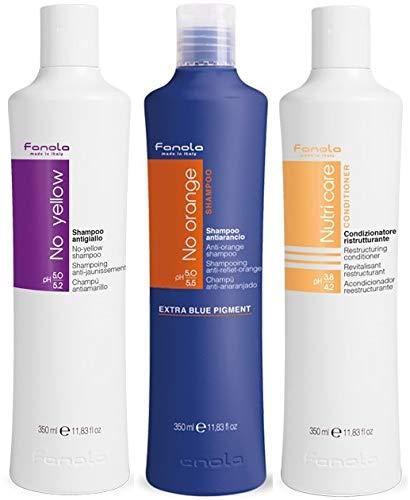 Fanola - Kit de reparación y tono esencial (350 ml)