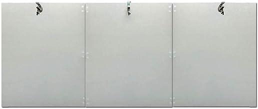 Yililay Patio Heater Reflector Shield Garden Heat Reflector Shield Outdoor Heater Foldable Heat Focusing Reflector 3 stuks