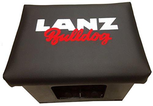 Lanz Bulldog Sitzkissen Bierkastensitz Bierkiste für Getränkekisten Stehtische Bistrotische Hocker Auflage Aufsatz ( Lanz Bulldog )