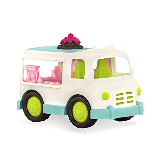 Wonder Wheels by Battat – Ice Cream Truck – Colorful Toy Truck with Detailed Interior for Kids Age 1 & Up – 100% Recyclable