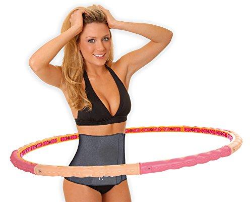 hoopomania Action Hoop, Hula Hoop with 24 magnets 1.6kg
