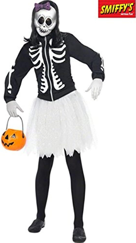 KULTFAKTOR GmbH Skelett Gothic Puppe Halloween Damenkostüm schwarz-Weiss-lila XS B00BTGNLBO  Gute Qualität  | Kaufen Sie online