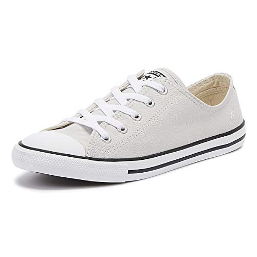 Converse Chuck Taylor All Star Dainty Damen Mouse Grau Ox Sneakers-UK 5 / EU 38
