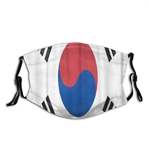 Gesicht Mundschutz Asien Südkorea Flagge Asiatisch Koreanisch Offizieller Staubmund Mundschutz