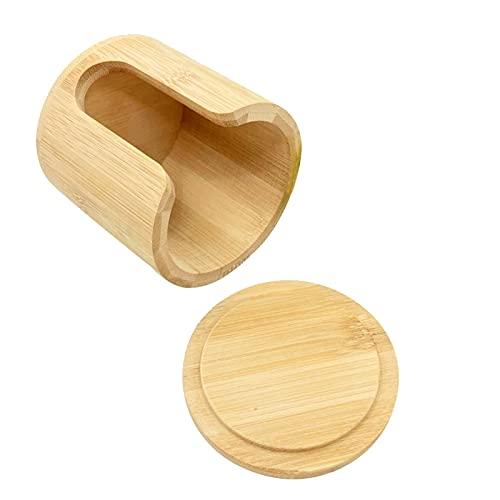 Removedor de maquillaje de algodón reutilizable portátil 16 piezas Lavable Redonda de bambú de bambú Pad Maquillador Pad Cojín de cuidado de la piel con caja de almacenamiento Limpiar maquillaje Remov