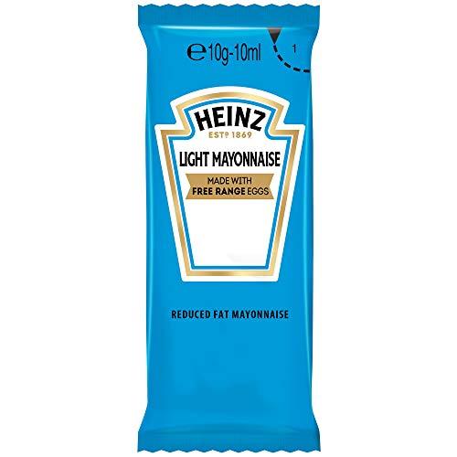 Heinz Light Mayonnaise Sachets - Pack Size = 200x
