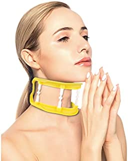 Cervical Neck Traction Device Brace Collar Neck Traction Stretcher for The Head - Pain Reliever for Stiff Shoulder & Neck,Breathable Head Traction Support