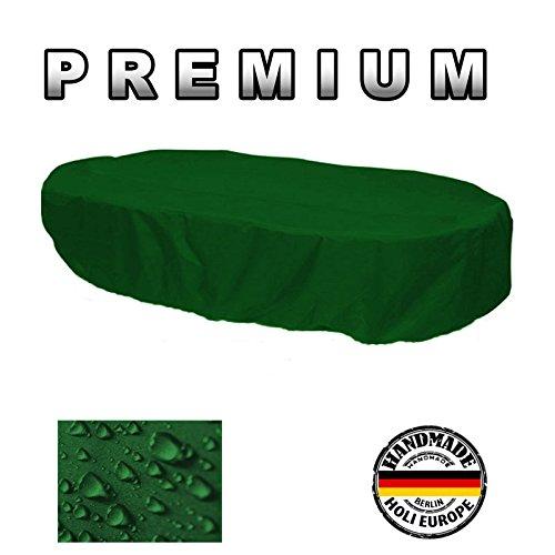Housse de Gartenstuhl-Kissen Housse de protection premium ovale 165 cm x 110 cm x 70 cm Vert sapin