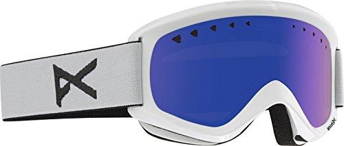 Anon Herren Snowboardbrille Helix, White/Bluesolex