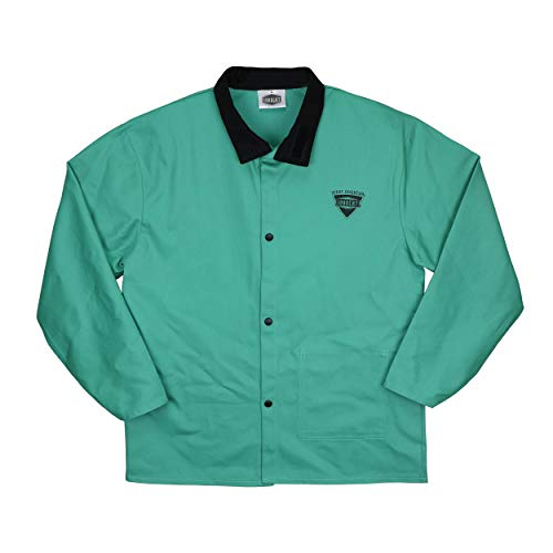 "IRONCAT 7050 L Irontex FR Cotton Jacket, 30"", Large, Green"