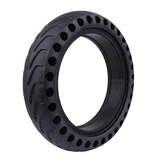 JAJU neumático sólido, Rueda de Repuesto de neumático Plano a Prueba de pinchazos, 8,5 Pulgadas, de Goma a Prueba de explosiones, de Nido de Abeja, para neumáticos de Scooter eléctrico (1 Pieza)