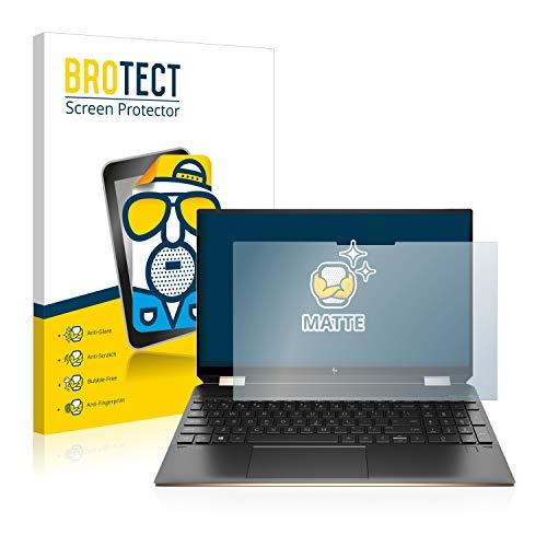 BROTECT Entspiegelungs-Schutzfolie kompatibel mit HP Spectre x360 15-eb0785ng Bildschirmschutz-Folie Matt, Anti-Reflex, Anti-Fingerprint