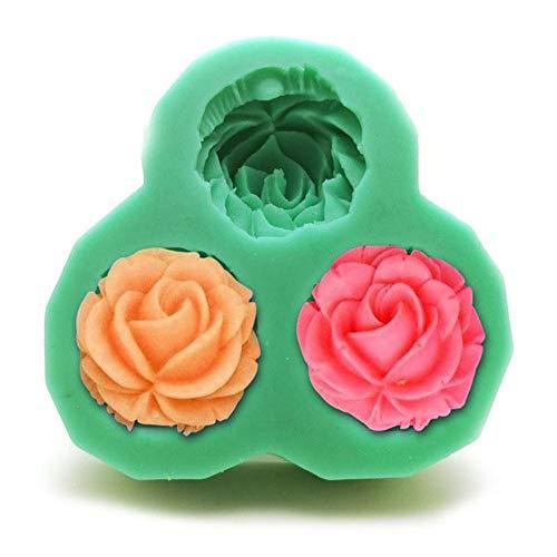 DACCU nieuwe DIY siliconen vormen voor het decoreren van fondant bloem vorm ijs zout sculptuur handgemaakte zeepvorm keuken F0443HM35