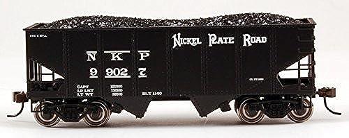 Bachmann Industries 55-Ton 2-Bay Sure Outside Braced Hopper - Nickel Plate Road (HO Scale) by Bachmann Trains
