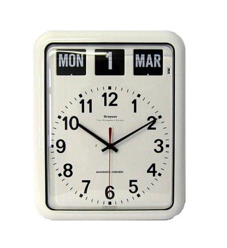 NRS Healthcare - Reloj de Pared analógico con Calendario (t