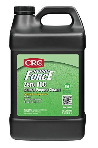 Great Features Of CRC HydroForce Zero VOC General Purpose Cleaner, 1 Gal
