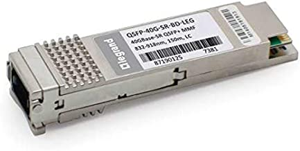 C2G Cisco QSFP-40G-SR-BD Compatible 40GBase-SR QSFP+ Transceiver (MMF, 832nm-918nm, 150M, LC, DOM) TAA Compliant (QSFP-40G-SR-BD-LEG)