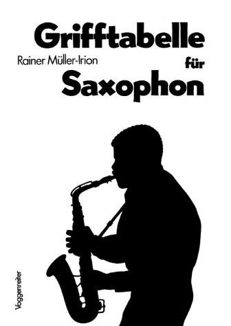 Grifftabelle für Saxophon: Die gängigsten Griffe für alle Saxophone