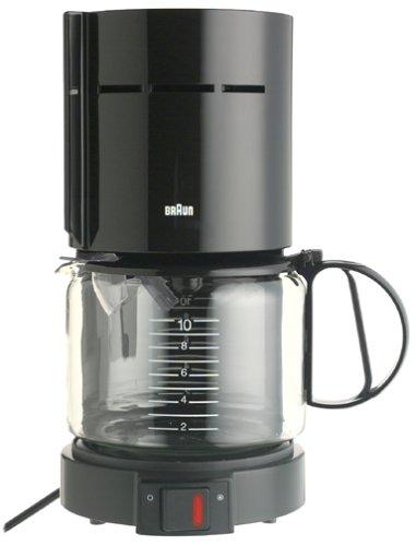 Braun KF400-BLK Aromaster 10-Cup Coffeemaker, Black