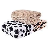 MatLeya Blankets for Dogs Puppies, Lightweight and Fluffy Dog Blanket, Premium Puppy Fleece Throw Blankets, Pet Blankets for Dogs & Cats