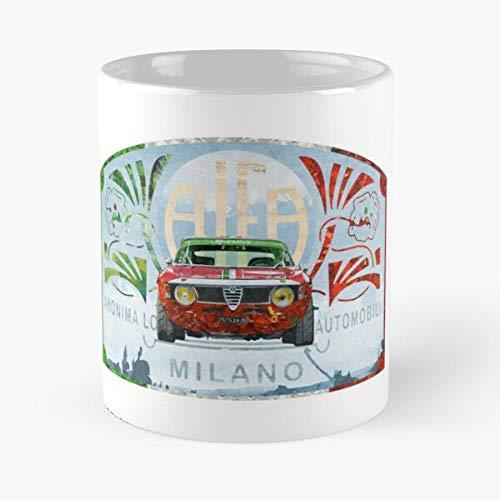 5TheWay Mug Veloce Romeo GTA Alfa Best 11 oz Kaffeebecher - Nespresso Tassen Kaffee Motive