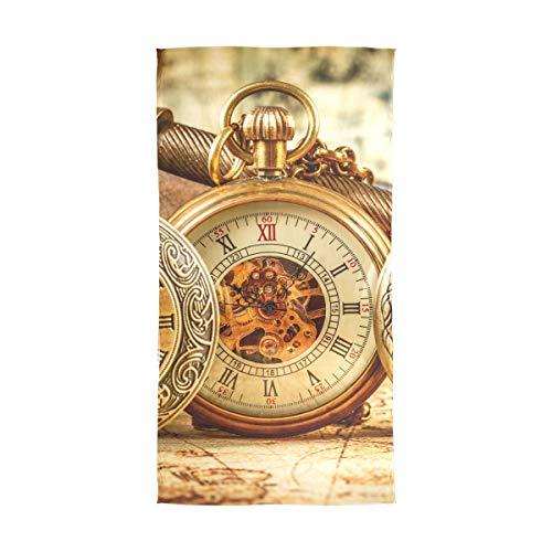 Janhe Wrap mousseline de soie châle longue écharpe en soie cravate Art Antique montre mécanique silencieux
