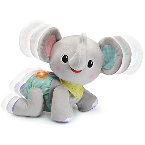 Vtech 80-533264 Krabbel-mit-Mir-Elefant Motorikspielzeug, Krabbelspielzeug, Babyspielzeug, Krabbelhilfe, Bunt