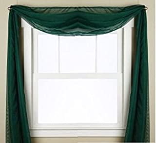 Best voile window scarf Reviews