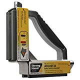 Strong Hand Tools, Adjust-O 90° Dual Switch Magnetic Fabrication Square, On/Off Switches, Max. Pull Force: 120 LBS, Dimension: 6 x 6 x 1-1/2″, MS2-80