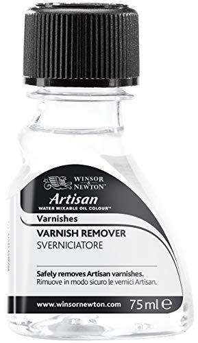 Winsor & Newton 3021730 Artisan Öl - Firnis für wassermischbare Ölfarben - Firnisentferner, 75ml Flasche