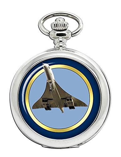 Aérospatiale-bac Concorde Reloj Bolsillo Hunter Completo