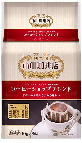 小川珈琲 コーヒーショップブレンド ドリップコーヒー 8杯分×3個