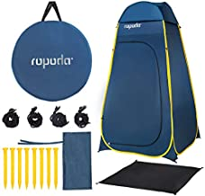 ROPODA Pop Up Tent 83inches x 48inches x 48inches, Upgrade Privacy Tent, Porta-Potty Tent Includes 1 Removable Bottom,8 Stakes,1Removable Rain Cover,1 Carrying Bag