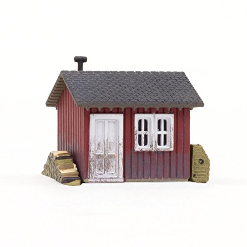 Woodland Scenics WOOBR4947 N Built-Up Work Shed