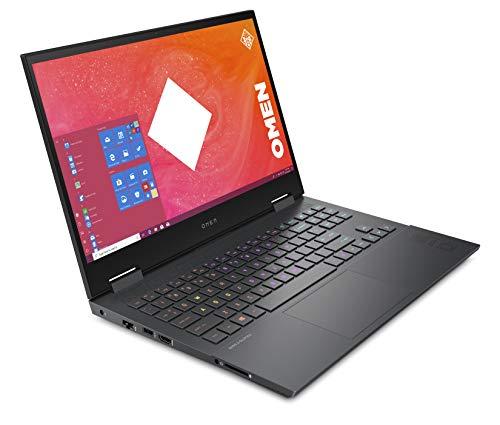 HP OMEN 15-en0006na 15.6 Inch Full HD, 144 Hz Gaming Laptop, AMD Ryzen 7 4800H, 8 GB RAM, 512 GB SSD, NVIDIA GeForce GTX 1660 Ti (6 GB Dedicated) Graphics, Windows 10 Home - Mica Silver