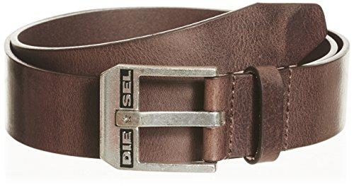 Diesel BLUESTAR, Cintura Uomo, Marrone (Chestnut/Argento America H5900-Pr227), 6 (Taglia Produttore: 105)