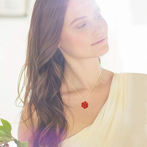 Shipenophy Embalaje de Regalo de cortesía Collar de Mujer Accesorio de Vestir...