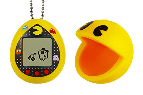 Tamagotchi Deluxe PAC-Man with Case - Yellow Maze, Deluxe Yellow