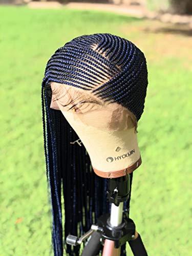 Full lace lemonade cornrow wig