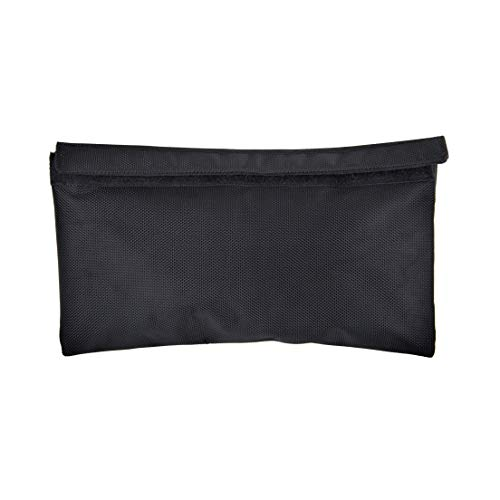 Bright Bay Smell Proof Pouch Large- Smell Proof Bag With Lock - Carbon Lining - Discreet Travel Bag - Odor Proof Bag - Scent Proof Bag - Herb Guard - Toiletry Bag