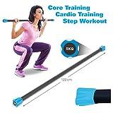 Sport-Tec Gewichtsstange 5 kg, hellblau, Hantelstange, Langhantel, Gewichtsstab