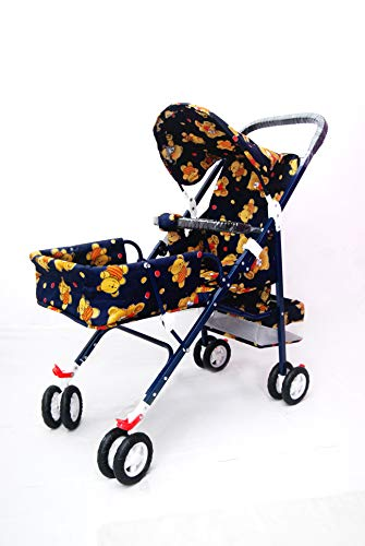 Babyzone® Pram and Stroller for New Born Baby/Baby Stroller/Extra Large Seating Space, Easy Fold, for New Born Baby/Kids, 0-3 Years/Kid pram Stroller/Stroller Baby boy