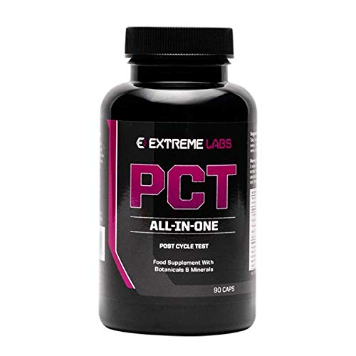 Post Cycle Test Extreme Labs PCT - Test Booster - 90 Caps
