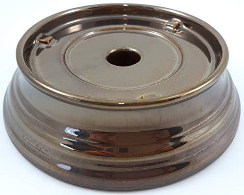 1a PartyLite - Windlicht Classico - Fuss - P9868B - bronzefarben