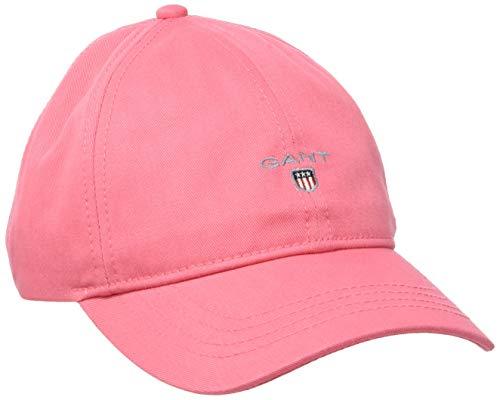 GANT Damen Twill Baseball Cap, Rosa (Rapture Rose 665), One Size (Herstellergröße: Oversize)
