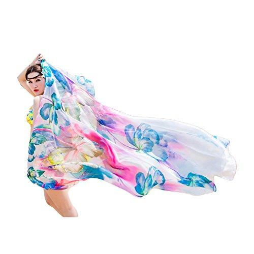 UK_Stone - Pareo para mujer, estilo sarong (bikini, parasol)