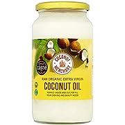 Coconut Merchant Raw Organic Extra Virgin Coconut Oil 1000ml