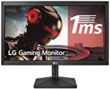 LG 20MK400H-B - Monitor WXGA de 49,4 cm (19,5') con Panel TN (1366 x 768 píxeles, 16:9, 200 cd/m², 600:1, 2 ms, NTSC 72%, 60Hz) Color Negro Mate