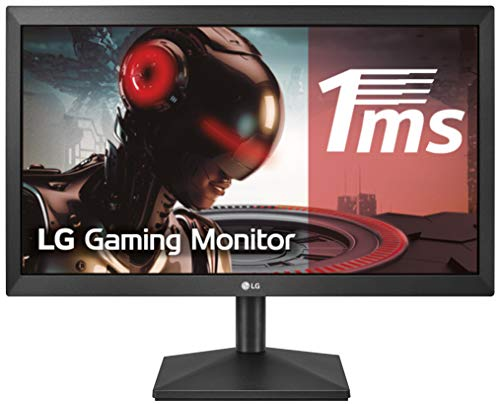 "LG 20MK400H-B - Monitor WXGA de 49, 4 cm (19, 5"") con Panel TN (1366 x 768 píxeles, 16:9, 200 cd/m², 600:1, 2 ms, NTSC >72%, 60Hz, D-SUB x1, HDMI x1) Color Negro Mate"